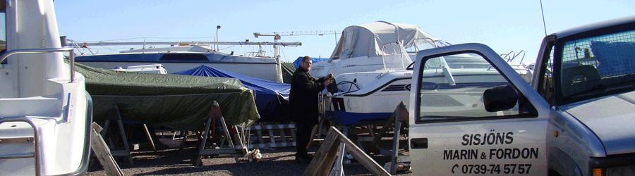 Vi hjälper dig med allt inom fritidsbåtar!
